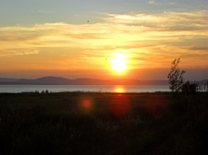 Sunset in Riviere Du Loup.