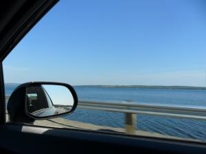 Beautiful blues on Cape Breton Island.