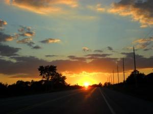 Northbound on Highway 6, ON.