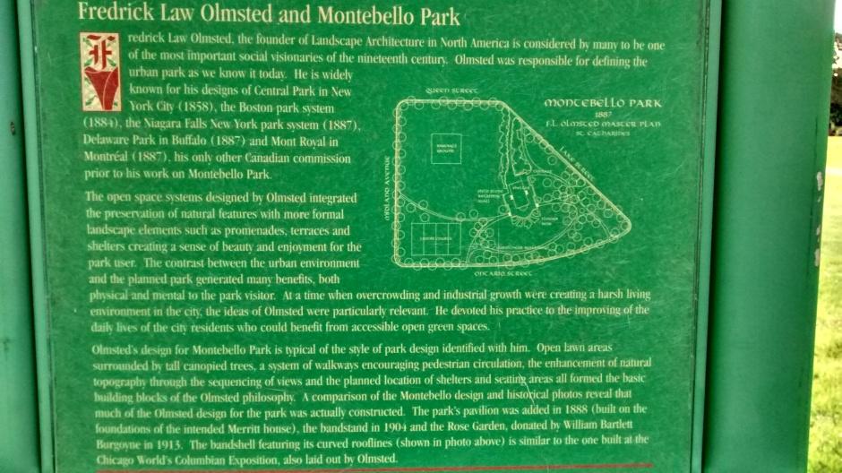 Montebello Park Placard 2